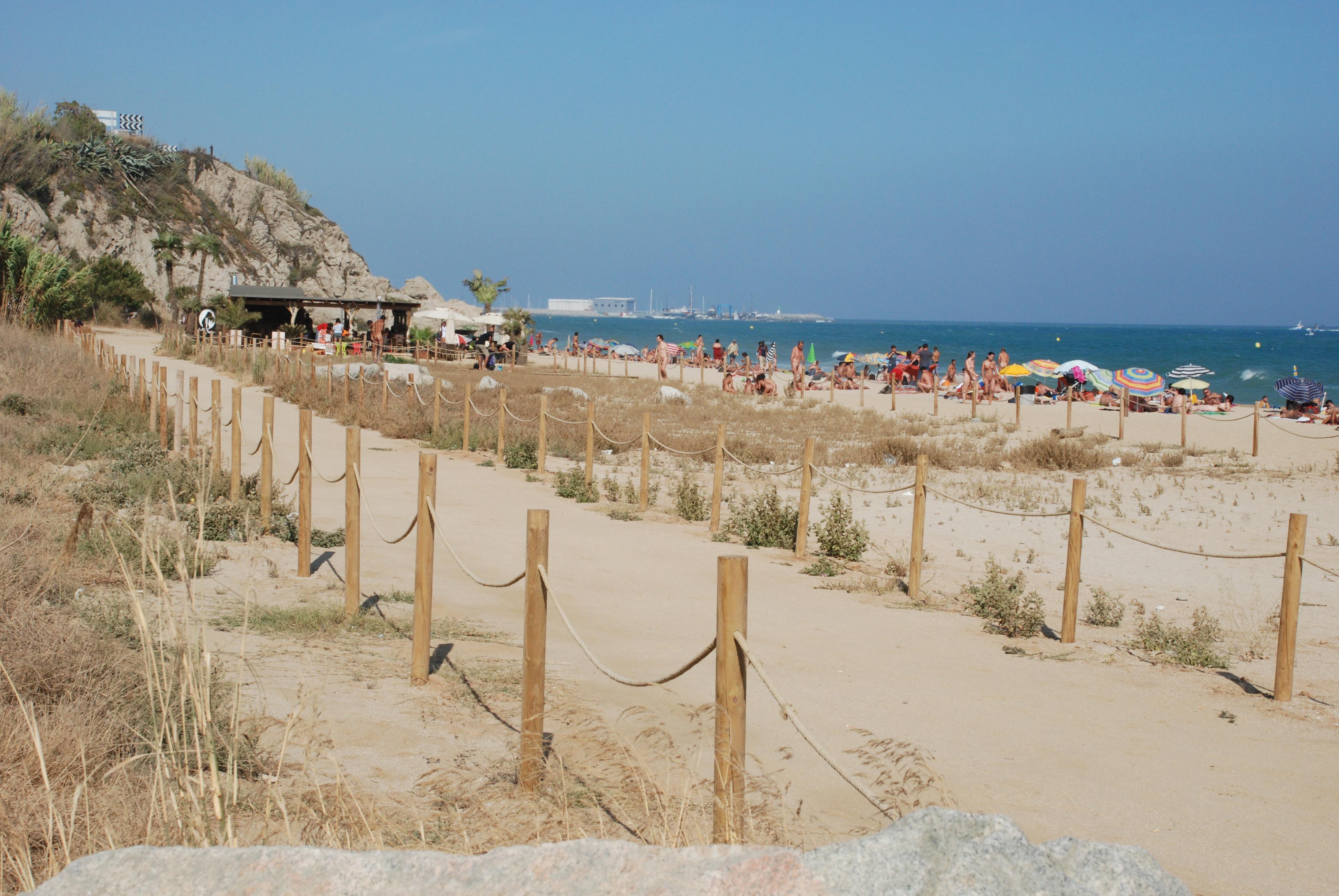 Mar Bella Beach Barcelona Spain