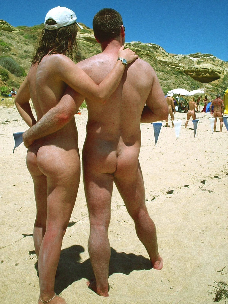 Beach nudist maslin